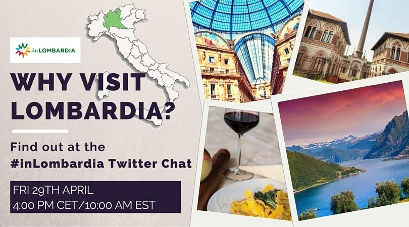 Twitter Chat internazionale per scoprire la Lombardia