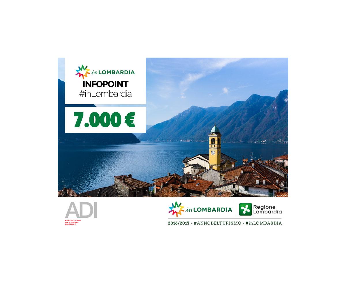 Infopoint in Lombardia: nuova selezione per un marchio logotipo