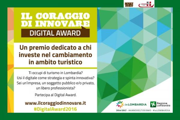 """Il nuovo Bando di Regione Lombardia: """"Digital Awards – Il coraggio di innovare"""""""