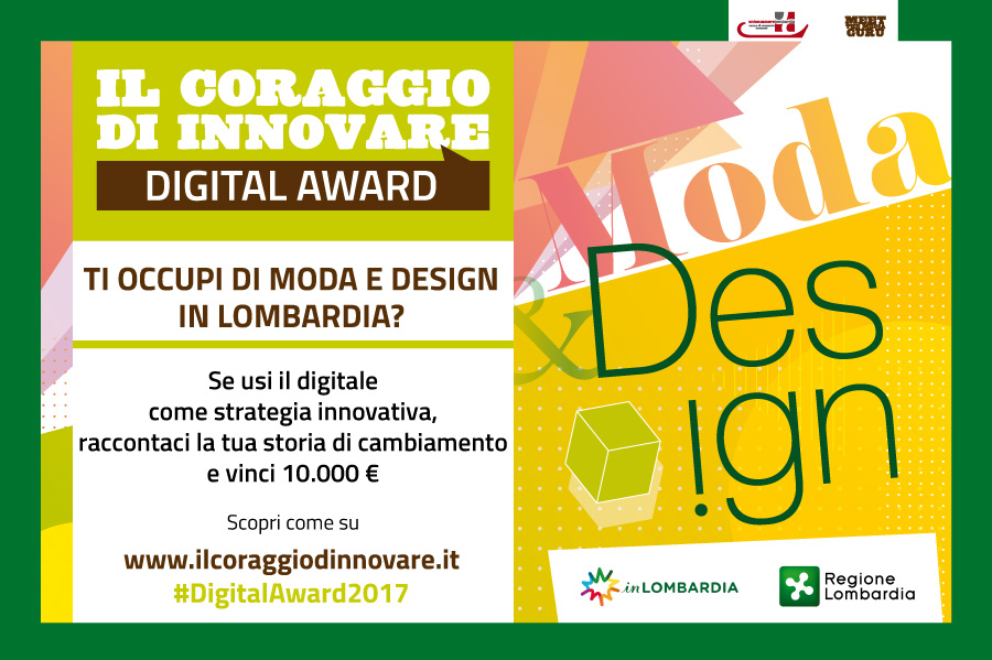 Digital Award 2017: moda e design