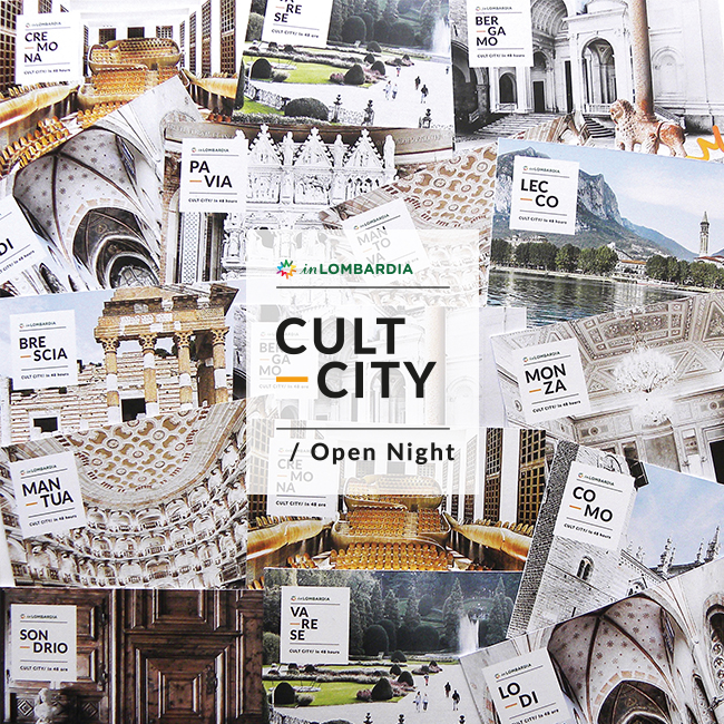 27 – 31 maggio: La Lombardia si prepara alla Cult City Open Night
