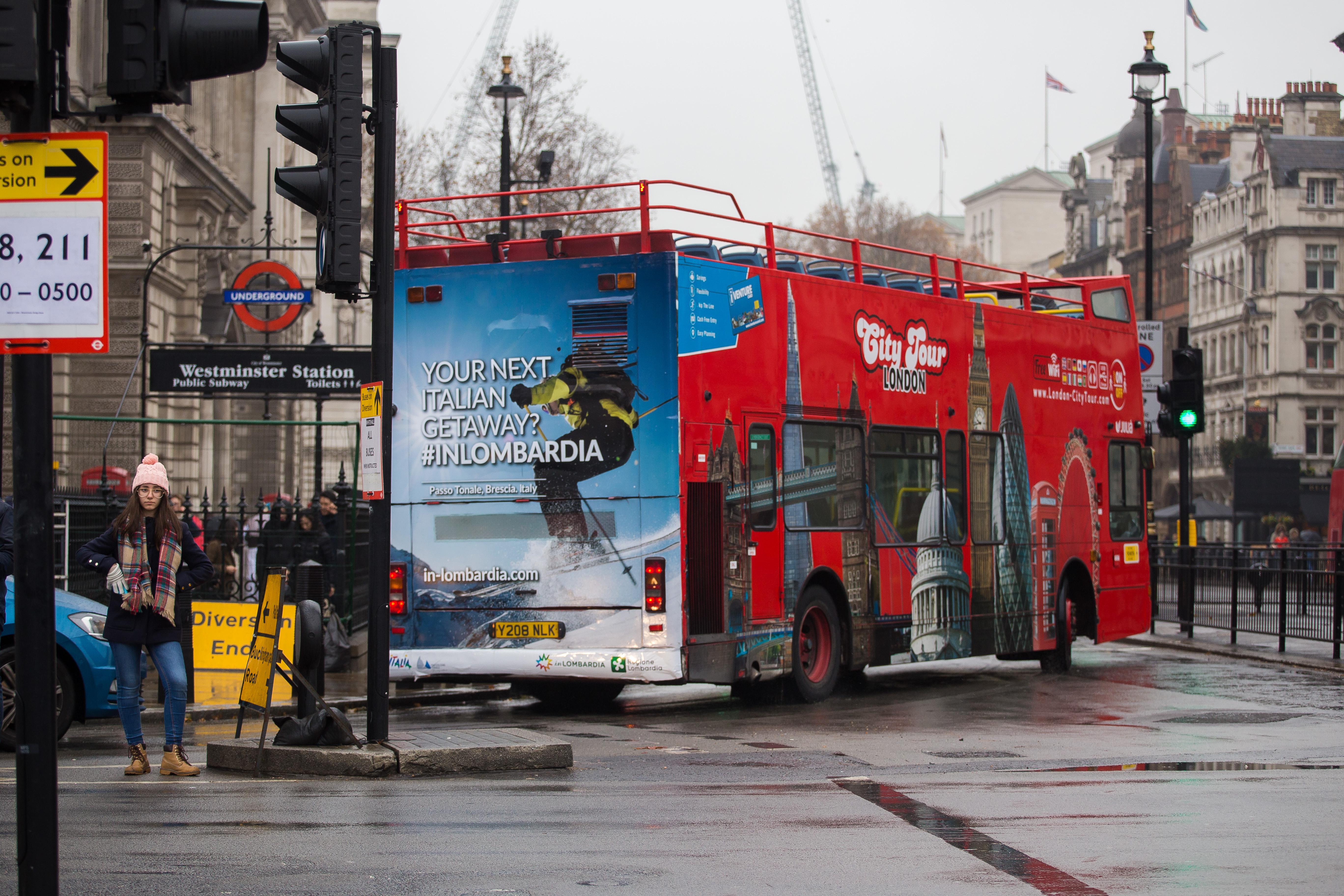 #inLombardia sui BUS di Londra