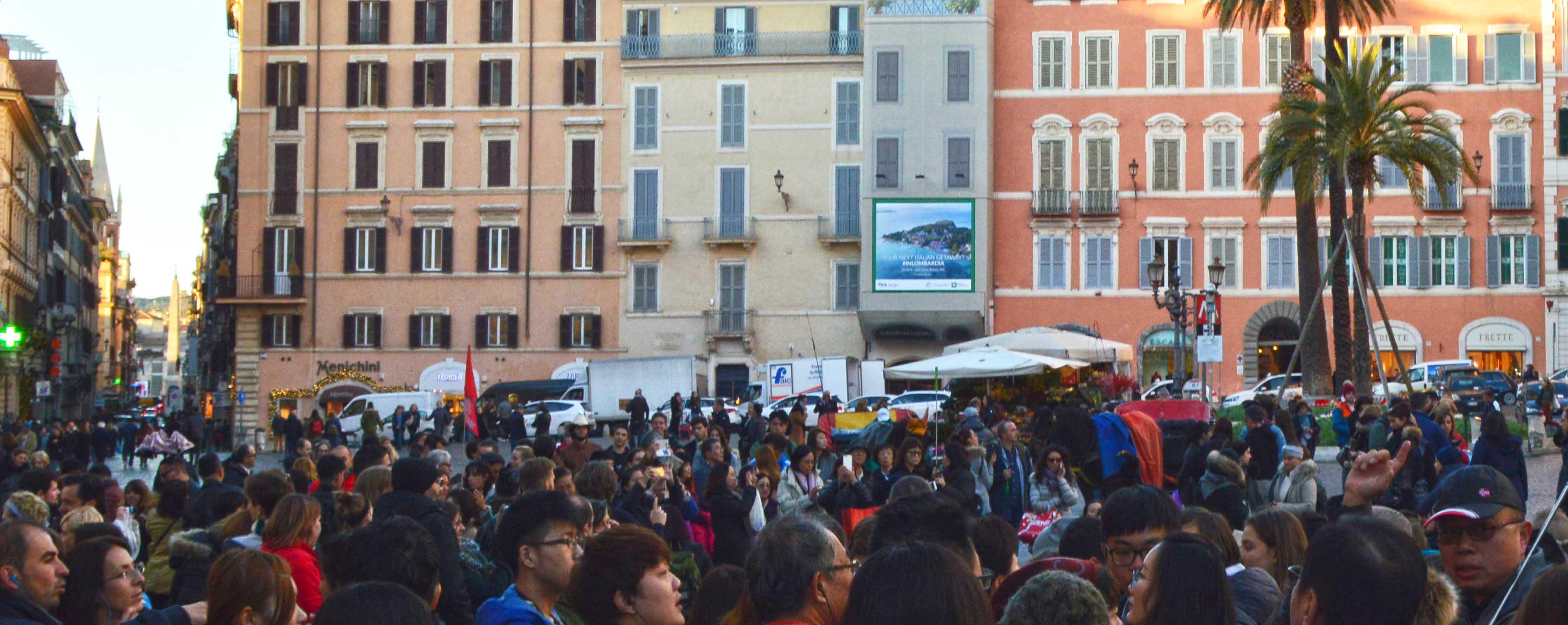 #INLOMBARDIA in Piazza di Spagna, Roma