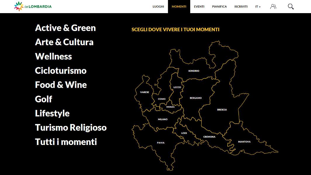 inLOMBARDIA: il nuovo portale in anteprima