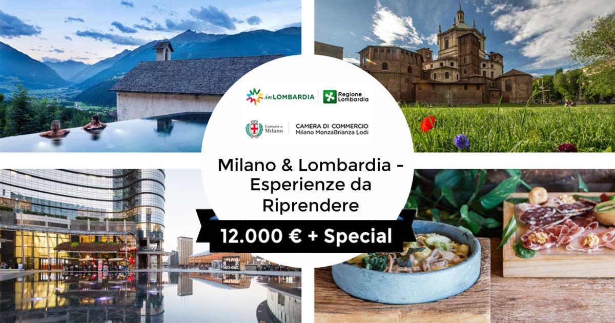 """""""Milano & Lombardia: Esperienze da riprendere"""": i primi vincitori"""
