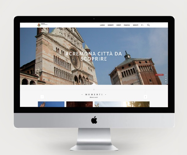 Online il nuovo portale turistico del territorio cremonese