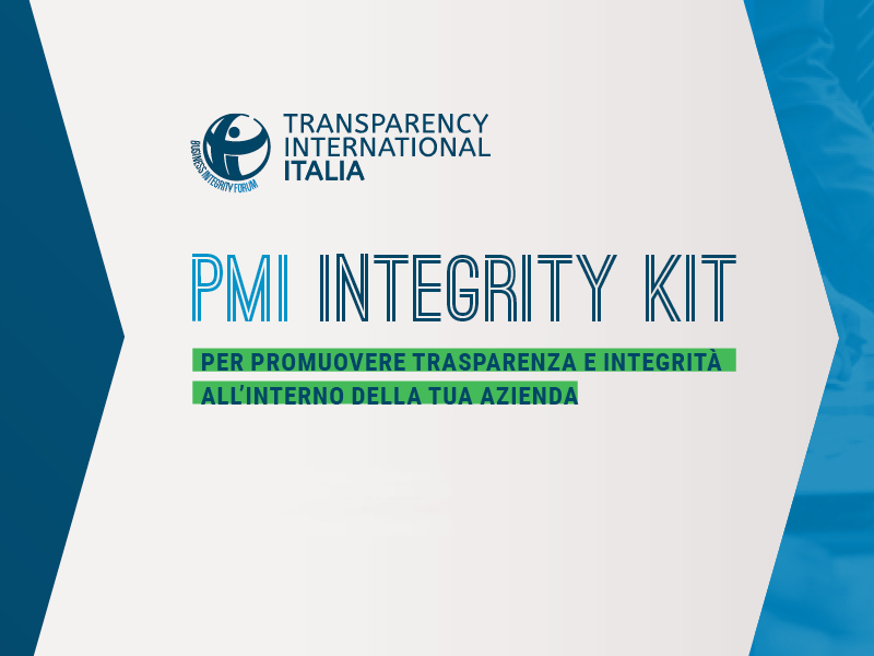 Business integrity kit per piccole e medie aziende