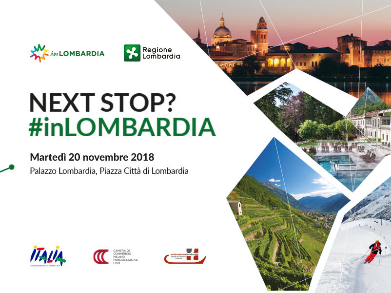 NEXT STOP? #INLOMBARDIA. La Lombardia attraversa l'Europa per raccontarsi