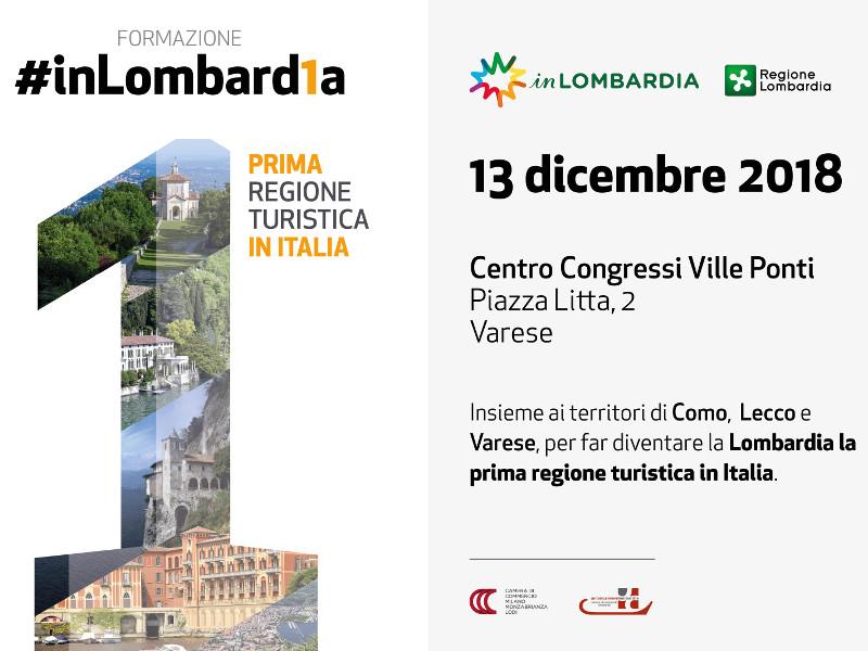 Varese ospita la 5^ tappa del progetto di formazione #inLombard1a