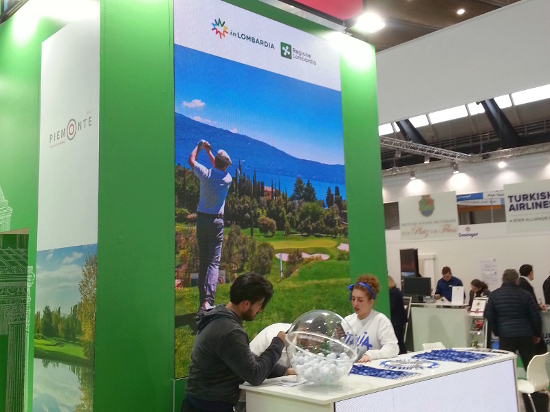 Regione Lombardia presenta Golf Experience #inLombardia a Düsseldorf