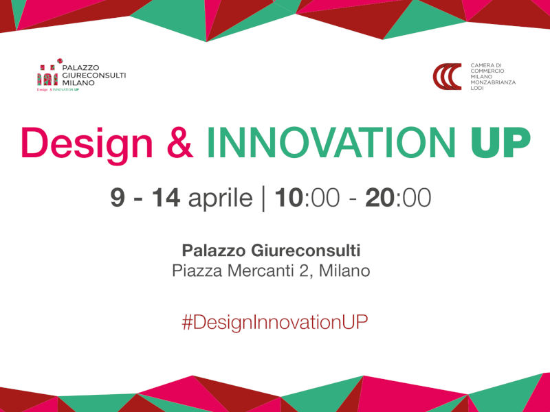 Design&Innovation Up: la Design Week 2019 a Palazzo Giureconsulti