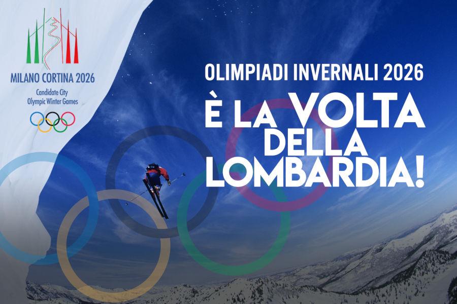 Abbiamo vinto! La Lombardia, insieme al Veneto, ospiterà le Olimpiadi Invernali nel 2026