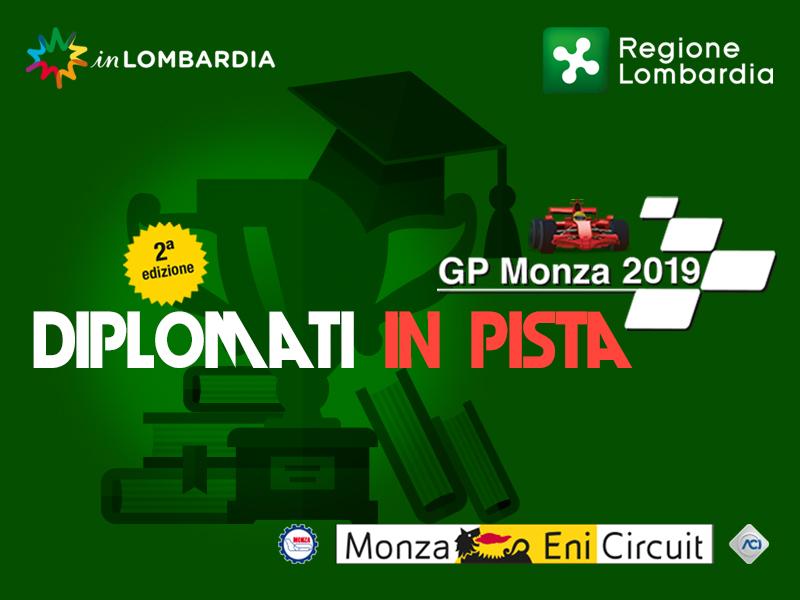 Regione Lombardia premia i migliori neodiplomati lombardi con i biglietti del GP Monza 2019