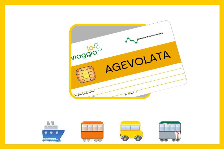 """""""Io viaggio ovunque in Lombardia Agevolata"""" per i servizi di trasporto pubblico"""