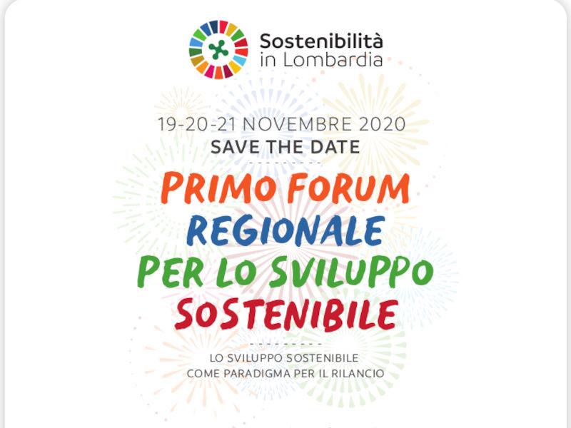 Primo Forum per lo sviluppo sostenibile