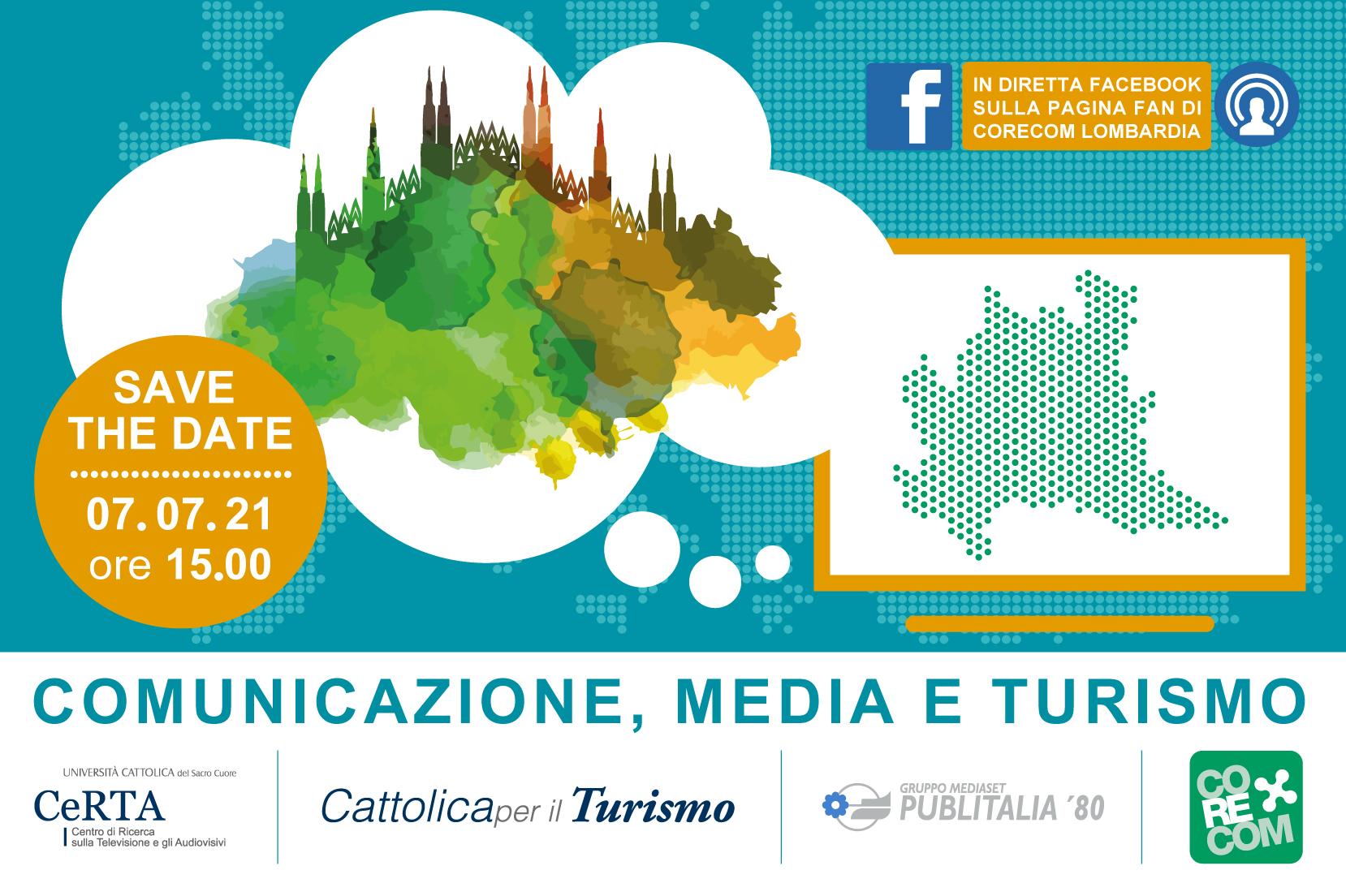 """Webinar """"Comunicazione, media e turismo"""". Dibattito sul rilancio delle destinazioni turistiche lombarde"""